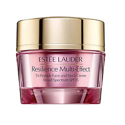 Estee Lauder Resilience Multi-Effect Tri-Peptide Face and Neck Creme SPF 15 For Dry Skin