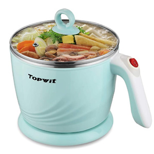 Topwit Electric Hot Pot Mini, Electric Cooker