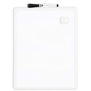 U Brands 磁力可重复使用白板 11x14