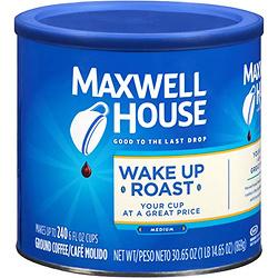 Maxwell House Wake Up Roast Medium Roast Ground Coffee