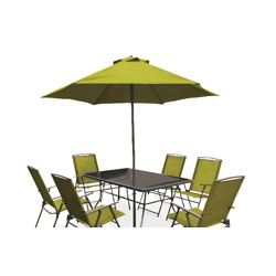 8-piece Patio Set with Large Chairs
