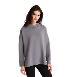 SOFT HOODIE FOR WOMEN IN GREY