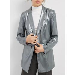 Zada Metallic Blazer
