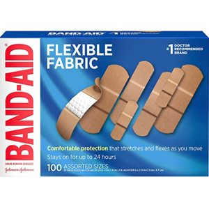 Band-Aid Brand Flexible Fabric Adhesive Bandages