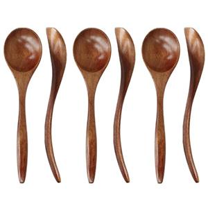 ADLORYEA 木质汤勺 6个