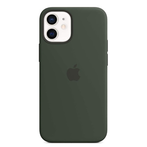 Apple Silicone Case with MagSafe (for iPhone 12 mini) - Cyprus Green
