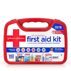 Johnson & Johnson All-Purpose First Aid Kit