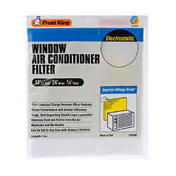 15-in x 24-in x 1/4-in Electrostatic Air Conditioner Filter