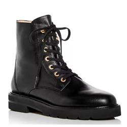 Stuart Weitzman Women's Mila Combat Boots