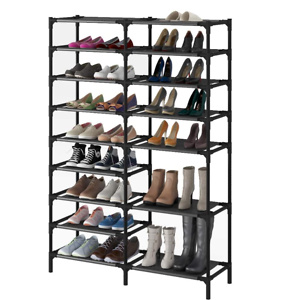 9 Tiers Shoe Rack,Showin Large Shoe Storage Organizer