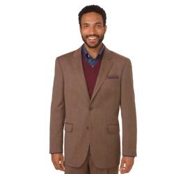 Classic Fit Impeccable Birdseye Notch Lapel Suit Jacket
