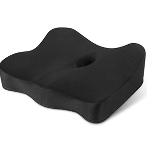 VISHNYA Seat Cushion 100% Pure Memory Foam Office Chair Cushion