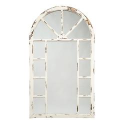 迪瓦卡老式白色重音镜