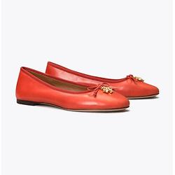 Tory Charm 平底芭蕾鞋