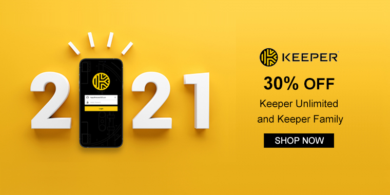 Keeper Security: Get 30% OFF Keeper Unlimited and Keeper Family