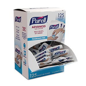 PURELL SINGLES Advanced Hand Sanitizer Gel