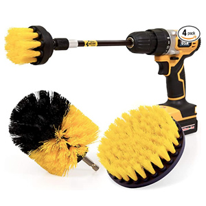 Holikme 4 Pack Drill Brush Power Scrubber Cleaning Brush