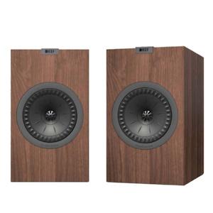"KEF - Q Series 5.25"" 2-Way Bookshelf Speakers (Pair) - Walnut"