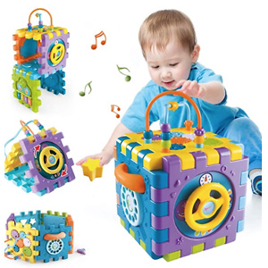 Activity Cube Toys for Toddlers 12-18 Months