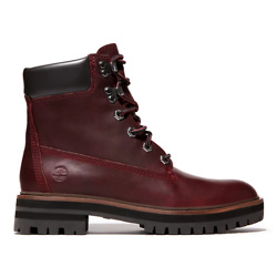 LONDON SQUARE 6 INCH BOOT FOR WOMEN IN BURGUNDY
