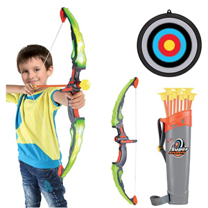 Conthfut Bow and Arrow for Kids with LED Flash Lights