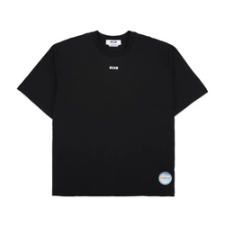 MSGM New Collection Haunted T-Shirt - Black