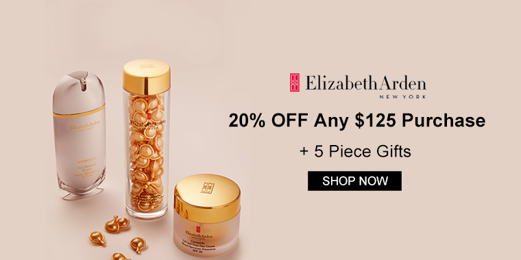 Elizabeth Arden: 20% OFF Any $125 Purchase + 5 Piece Gifts