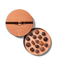 经典系列圆形礼盒装巧克力16粒