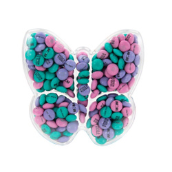 PERSONALIZABLE M&M'S BUTTERFLY GIFT BOX