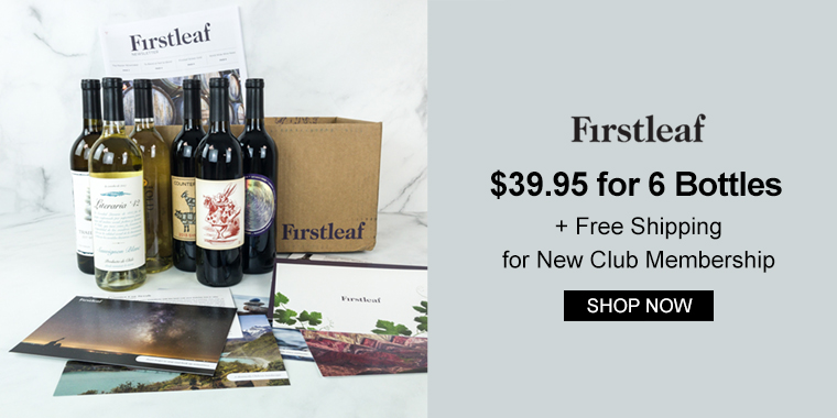 Firstleaf Wine Club: $39.95 for 6 Bottles + Free Shipping for New Club Membership