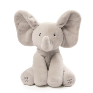 Baby Gund Flappy The Elephant Musical Stuffed Animal