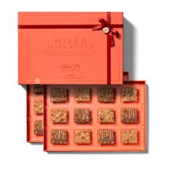 礼盒装山核桃巧克力12粒