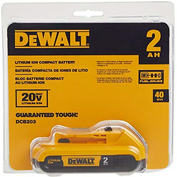 DEWALT 得伟 20v MAX锂离子充电电池
