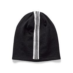 Sarah Pacini MAN复古条纹毛线帽