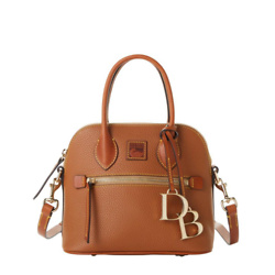 Pebble Grain Small Domed Satchel