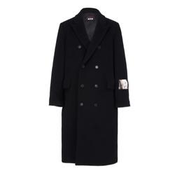 Dario Argento x MSGM Wool Coat - Black