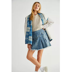 Marigold Denim Mini Skirt