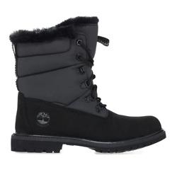 Timberland Premium 6 Inch Puffer Boots - Black