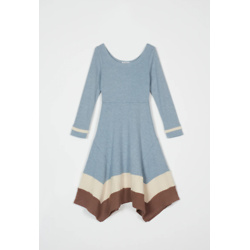 scarlett dress - dusty blue