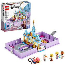 LEGO Disney Anna and Elsa's Storybook Adventures 43175 Creative Building Kit