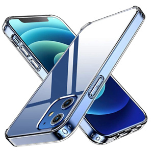 ANEMAT Crystal Clear Compatible with iPhone 12 Case