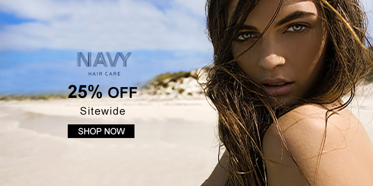 Navy Haircare: 25% OFF Sitewide