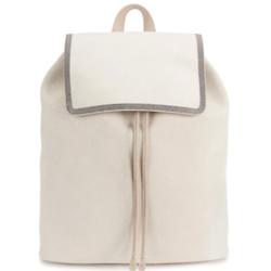BRUNELLO CUCINELLI Suede backpack