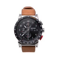 CR-01 - CHRONO WATCH WITH HORWEEN LEATHER STRAPS