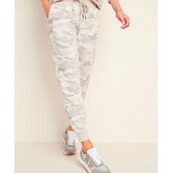 个性迷彩束腰运动裤