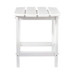 Sundown White End Table