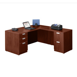 Contemporary L-Desk - 66