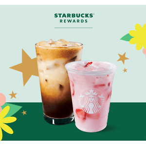 Starbucks: Buy 1 Get 1 Free