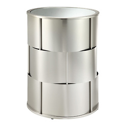 Picasso Polished Steel End Table