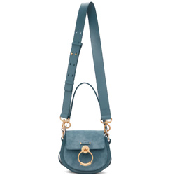 CHLOÉ Blue Small Tess Bag